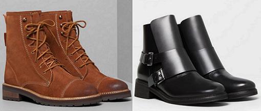 pull and bear zapatos otoño invierno 2014