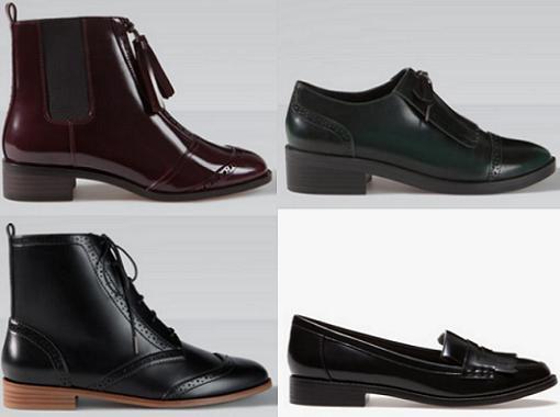 stradivarius zapatos otoño invierno 2014