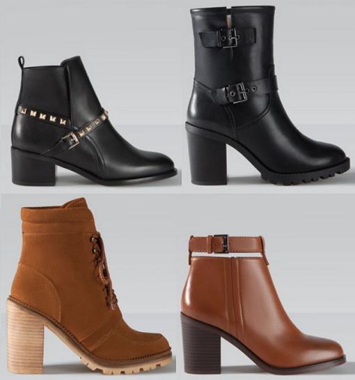 stradivarius zapatos otoño invierno 2015