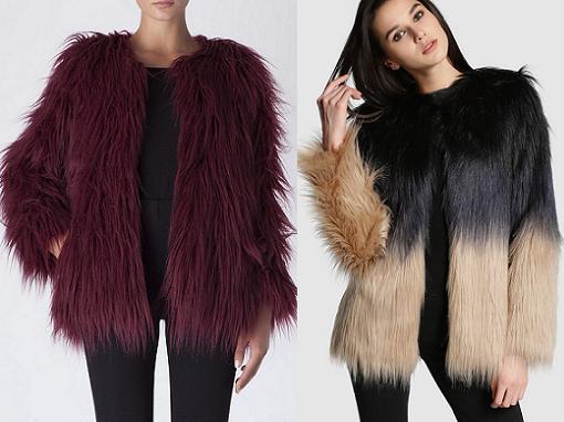 599b7a28424 Abrigos de pelo otoño invierno 2014 2015  sintéticos y baratos