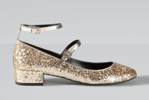 Especial zapatos dorados: tus pies brillarán este otoño