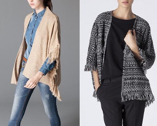 kimonos de punto