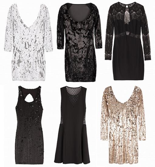Vestidos para Nochevieja 2014 de Bershka