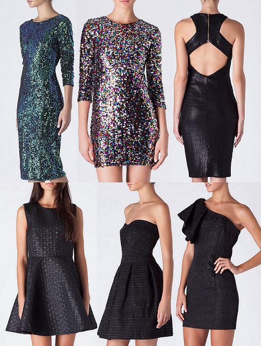 Vestidos cortos nochevieja 2014