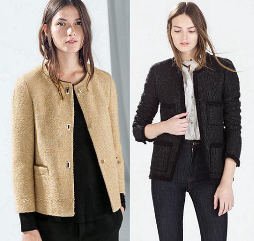 chaquetas zara mujer invierno 2015