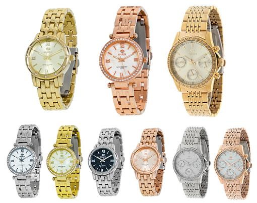 relojes marea dorados