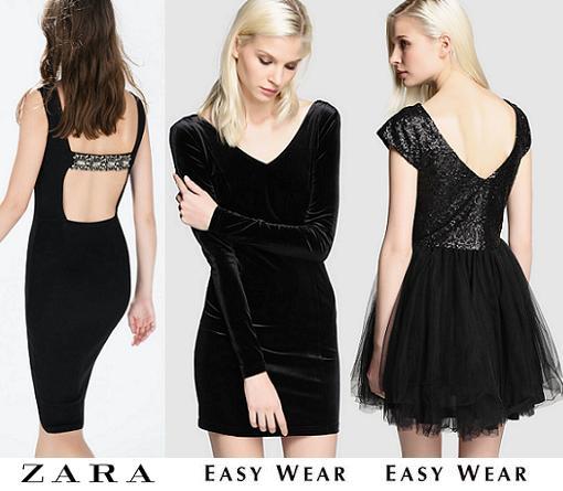vestidos de nochevieja zara easy wear