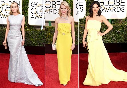 mejor vestidas globos de oro 2015