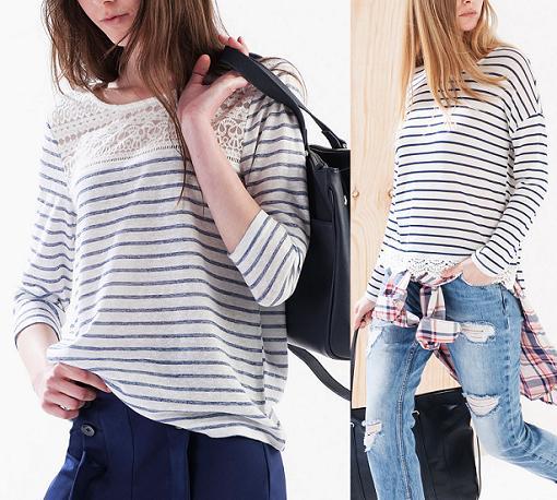stradivarius camisetas primavera verano 2015