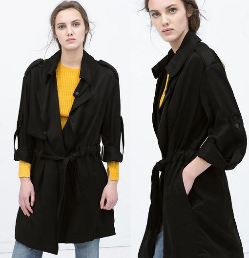 trench mujer