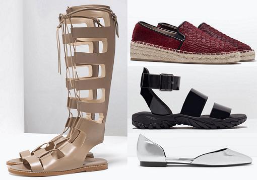 zara zapatos primavera verano 2015