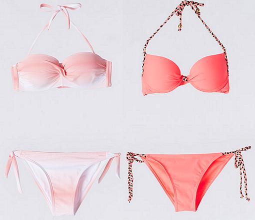 bikinis push up baratos