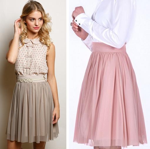 faldas de tul bonitas