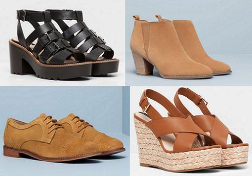 pull and bear zapatos primavera verano 2015