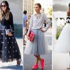 street style faldas de tul