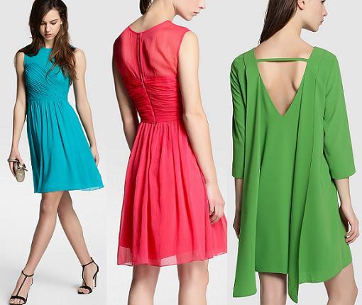 Vestidos cortos para bodas, bautizos y comuniones 2015 - RobaTendencias