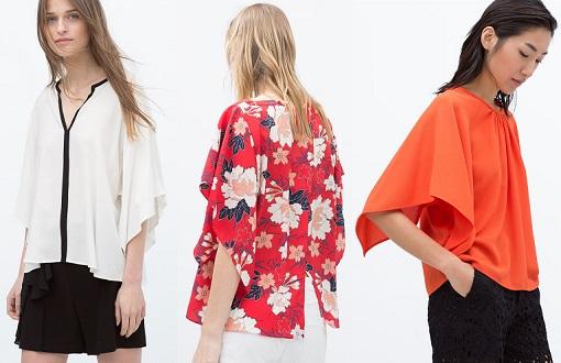 camisetas kimono zara