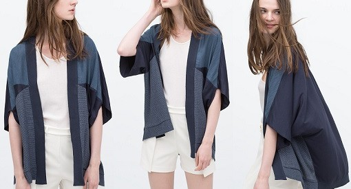 kimono de zara