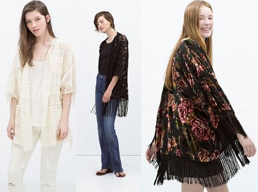 kimonos zara 2015