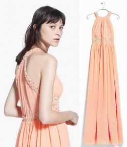 vestidos de fiesta mango 2015 con pedreria