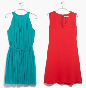 vestidos de fiesta mango 2015 cortos