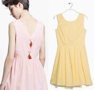 vestidos mango casual primavera verano 2015