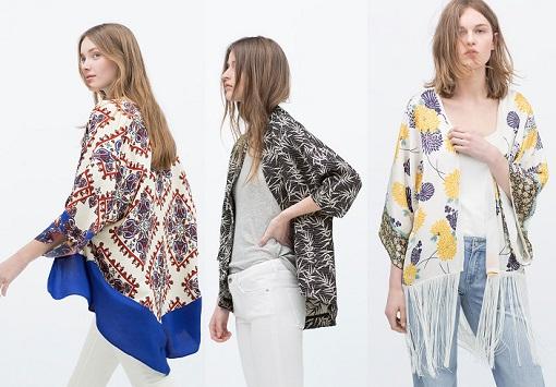 zara kimonos 2015