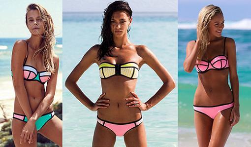 bikinis triangl imitacion