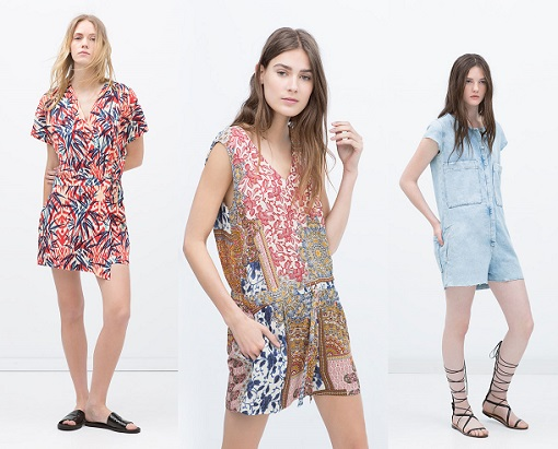 Monos cortos Zara