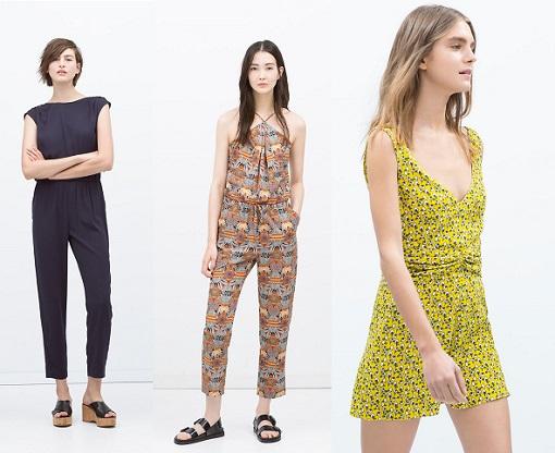 Monos de vestir Zara 2015