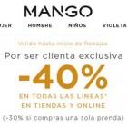 rebajas en mango 40% de descuento