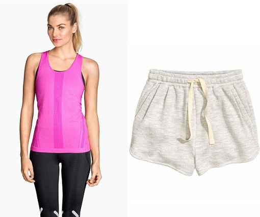 ropa deportiva H&M