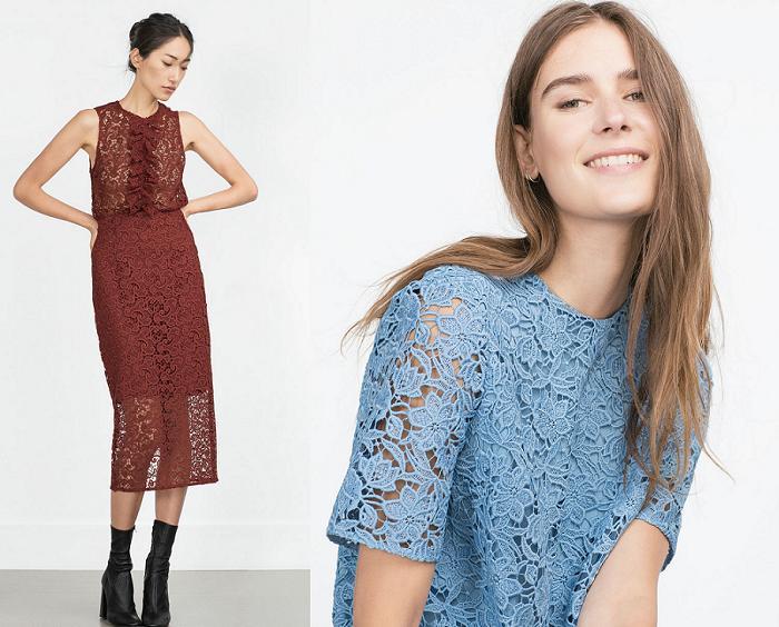 tendencias de moda otoño invierno 2016 encajes guipur