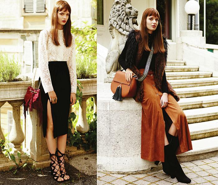 tendencias de moda otoño invierno 2016 faldas midi