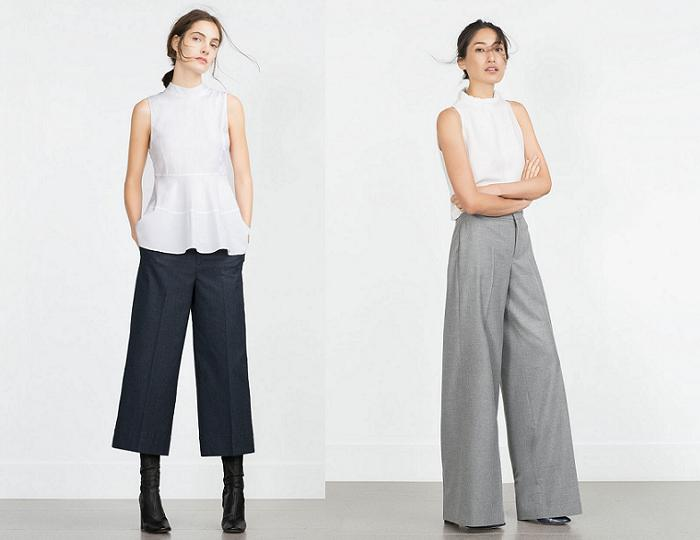 tendencias de moda otoño invierno 2016 palazzo culotte