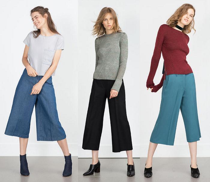 pantalones culotte zara 2015