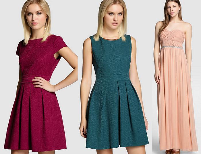 vestidos de fiesta formula joven otoño 2015