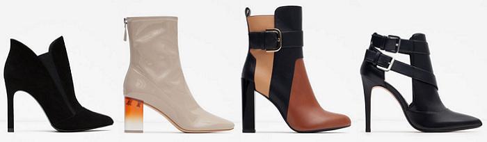 zapatos de tacon zara otoño invierno 2015 2016