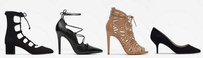 zara zapatos de salon otoño invierno 2015 2016