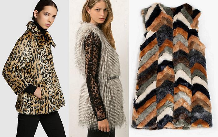 abrigos de pelo sintetico 2015 baratos el corte ingles