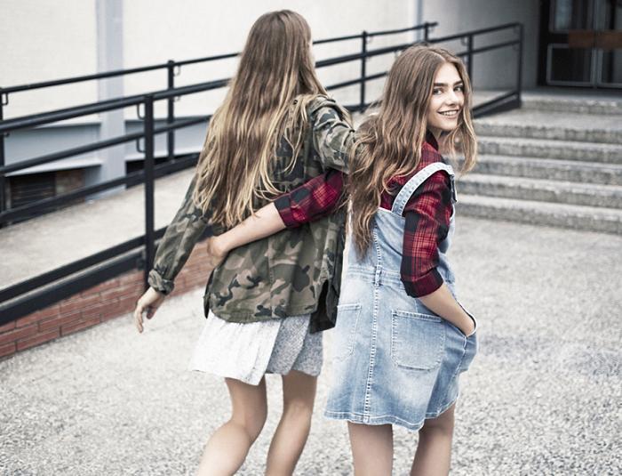 bershka moda casual otoño invierno 2015 2016