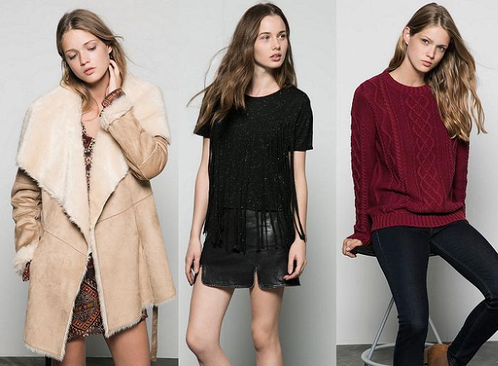 bershka ropa otoño invierno 2015 2016