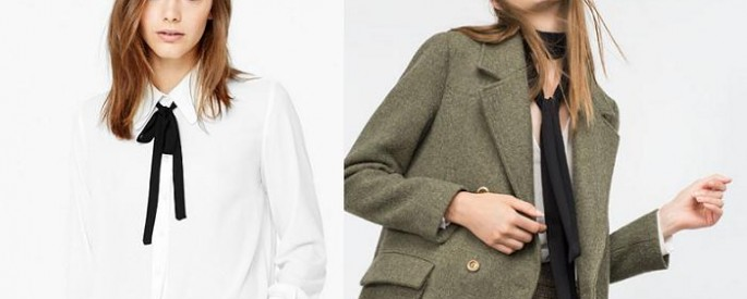 lazo al cuello complementos de moda 2016