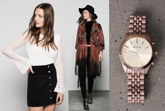 ropa bershka otoño invierno 2015 2016 faldas