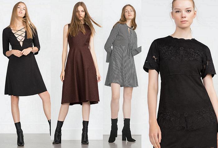 da1a462edc La mejor ropa de Zara mujer otoño invierno 2015 2016  vestidos ...