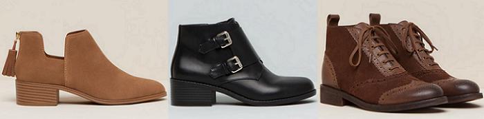 botines pull and bear zapatos mujer otoño invierno 2015 2016