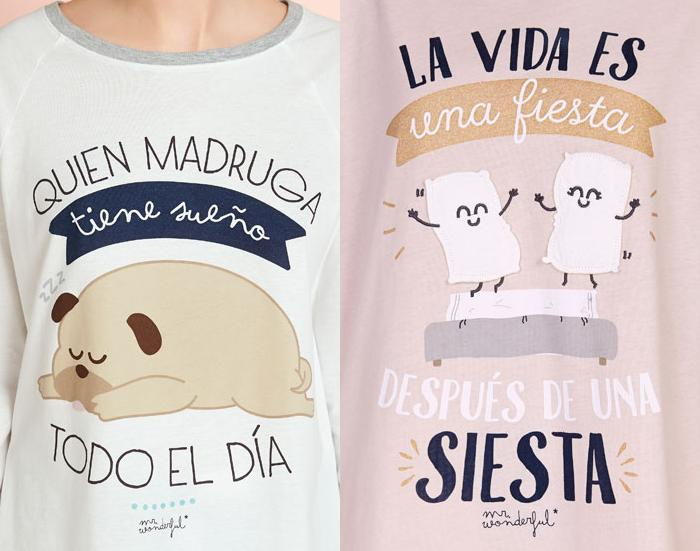 camisetas mr wonderful 2015 oysho