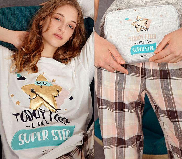 pijamas mr wonderful 2015 oysho estrella