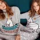 pijamas mr wonderful 2015 oysho unicornios y mensajes positivos