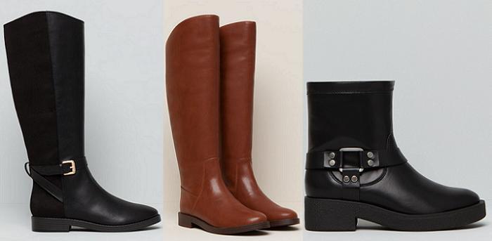 zapatos pull and bear botas otoño invierno 2015 2016